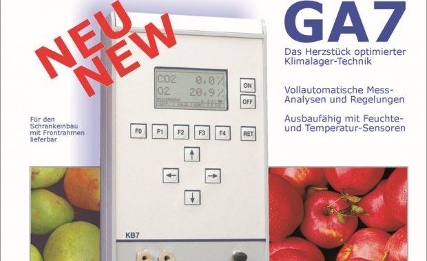 GA7 – Das neue Gas-Analyse-Gerät von Schele