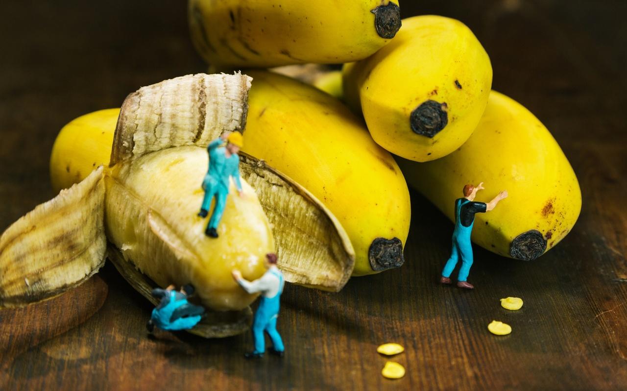 Miniwelten - Bananen von margie Foto-ID: 1513624